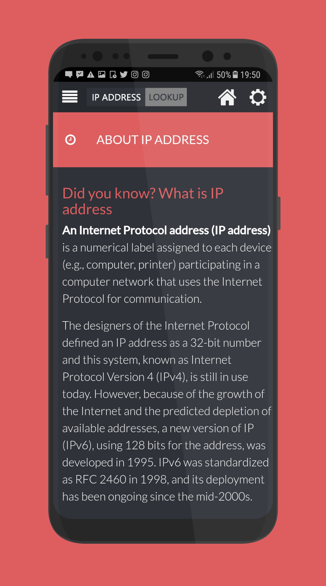 IP ADDRESS GEO LOOKUP & WHOIS
